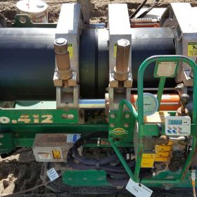 Fast Fusion Welding 315mm PN10 Pipe